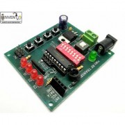INVENTO ISC 1096 315/433/434/435/866 MHZ Wireless RF Transmitter Receiver Board with HT12D HT12E (Multicolour)