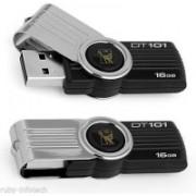 Kingston Data Traveler 101 G2 16 GB Pen Drive(Black)