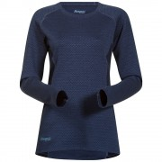 Bluza de corp Bergans Snoull Lady - 100% Merino Wool - Albastru