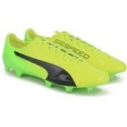 Puma evoSPEED 17.SL S FG Football Shoes(Yellow)