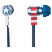 Casti Stereo Tribe Marvel Captain America (Albastru)