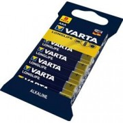 Varta Blister 8 Batterie Alcaline AAA Mini Stilo