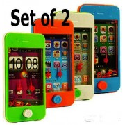Smart Phone Ring Toss Games (Set of 2) Game Scene and Colors will Vary