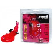 Rabbit Cock & Ball Ring with Clit Stimulator