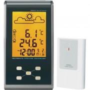 Rádiójel vezérlésű időjárásjelző állomás, EFWS 301 Eurochron C8342+C8340T 80 m, 433 MHz (672409)