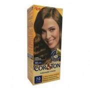 Coloração Creme Cor & Ton Niely Louro Médio 7.0