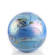 Medium Glazen Bal Dieren Urn Elan Blue (1.5 liter)