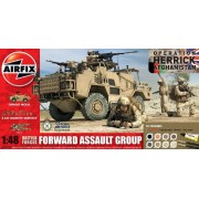 Airfix A50124 Forward Assault Group Model Kit, 1:48 Scale
