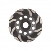 Disc diamantat DiaTehnik DryP 125 mm pentru slefuire beton si piatra