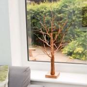 Elemes rose gold világító fa 61 cm