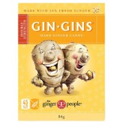 Gin Gins Double Stregnth Hard Ginger Candy 84g