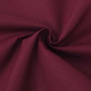 vidaXL burgundi vörös pamutszövet 1,45 x 20 m