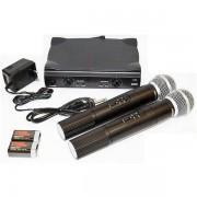 Set microfoane fara fir profesionale Shure UHF SM58
