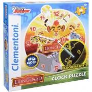 Puzzle Reloj Rey León Disney - Clementoni
