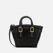 Aspinal of London Women's Marylebone Micro Tote Bag - Black