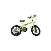 Bicicleta Infantil Aro 16 Dino Amarelo/Neon - Track Bikes