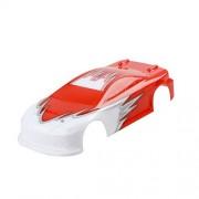 Generic Original ZD 1/16 RC Flat Car 16-M6 9047 9048 Part Body Shell Tail Set Red 6592