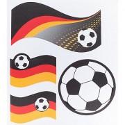 """Kleiber Sticker """"Deutschland"""", selbstklebend und aufbügelbar, Größe: 4 - 11 cm, Inhalt: 4 Stück"""