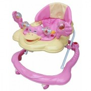 Oh Baby Baby Duck Shape Adjustable Musical Pink Color Walker For Your Kids AFB-JRY-SE-W-69