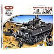 Oxford OXFORD MILITARY WORLD WAR SERIES TIGER TANK OM33013 / Compatible with Lego Block