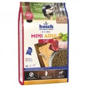 15kg Bosch Mini Adult com cordeiro e arroz ração