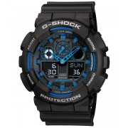 Ceas barbatesc Casio G-Shock GA-100-1A2 Bold Face. Tough Body