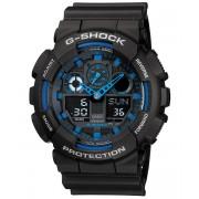 Ceas barbatesc Casio G-Shock GA-100-1A2 Bold Face. Tough Body