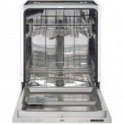 Belling IDW60 Fully Integrated Standard Dishwasher - Stainless Steel Control Panel with Fixed Door Fixing Kit - A++ Rated