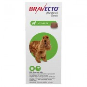 Bravecto for Medium Dogs 22 to 44lbs (Green) - 2 Chew