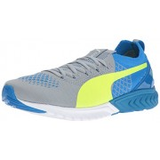 PUMA Men s Ignite Dual Proknit Running Shoe Quarry/electric Blue 8.5 D(M) US