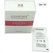 Goochie Permanent Makeup Rocket Rotary Machine A8 Cartridge Needles (pack of 15 Needles) (3RL)