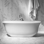 Vasca da bagno freestanding Amiata 165x61 cm bianco