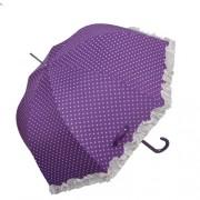 Clayre & Eef W4PLU0001A Esernyő 93x90cm lila szives