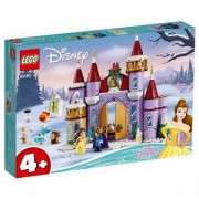 Конструктор Лего Дисни Принцеси - Зимно празненство в замъка на Бел - LEGO Disney Princess, 43180