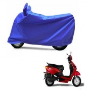 AutoAge Full Blue Two Wheeler Cover For Yo EXL