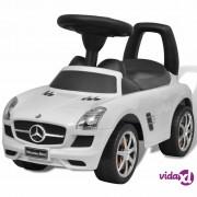 vidaXL Mercedes Benz Dječji Autić na Guranje Bijeli