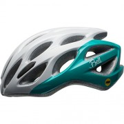 Bell 2017 Tempo MIPS Equipped Cycling Helmet - One Size (White/Emerald)
