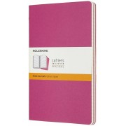Moleskine Quaderno Cahier Journal large a righe rosa. Kinetic Pin...