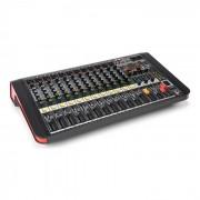 Power Dynamics PDM-M1204A Mesa de mezclas 12 entradas para micrófono Procesador multi-FX Reproductor USB (Sky-172.616)