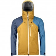 Ortovox 3L Ortler Jacket Men - yellowstone XL