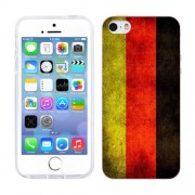 Husa iPhone 5S iPhone 5 Silicon Gel Tpu Model Germany Flag
