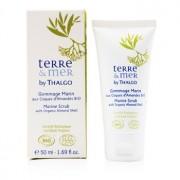 Terre & Mer Marine Scrub with Organic Almond Shell 50ml/1.69oz Terre & Mer Exfoliant Marin cu Coajă de Migdală Organică