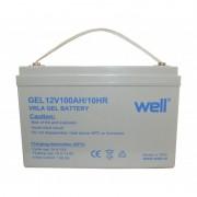 Acumulator Well, plumb acid cu gel, 12V, 100 Ah
