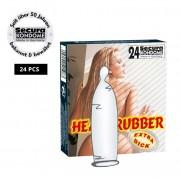 """Profilattici """"Heavy Rubber"""" Extra Resistenti - 24 Pezzi"""