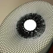 Net for floor lamp Warm, black