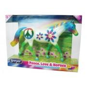 "Breyer ""Peace, Love The Horses"" Horse"