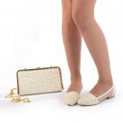 Pantofi de mireasa cu poseta inclusa Maria (Marime: 38 EU)