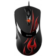 Mouse Gaming Sharkoon FireGlider Optical (Negru)
