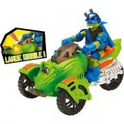 Vehicule Tortue Ninja Avec Figurine 12 Cm