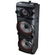 Sistem Audio Akai DJ-8215, Bluetooth, DJ Effect, party light, karaoke (Negru)